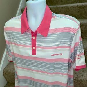 Adidas Golf bright vibrant casual golf polo shirt